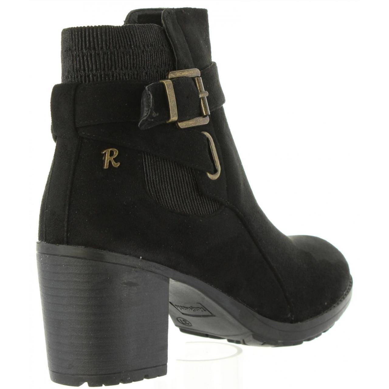 Refresh Refresh Refresh Stiefel für Damen 63634 Antelina Negro - a7df86