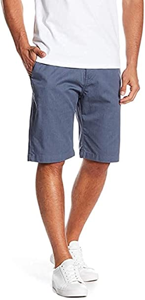 NEW VOLCOM  khaki chino walk skate shorts VMONTY modern fit blue 31 32 33 36 38