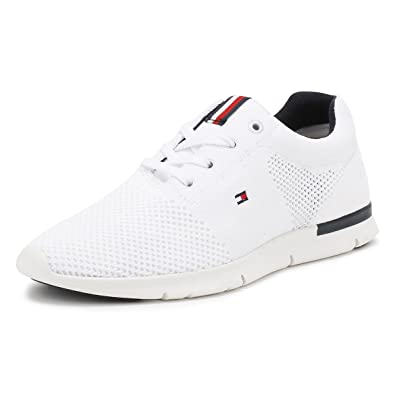 Tommy Hilfiger Tobias Trainers White: Amazon.co.uk: Shoes & Bags