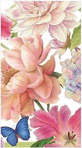 Caspari Chelsea Garden Paper Guest Towel Napkins - 15 Per Package