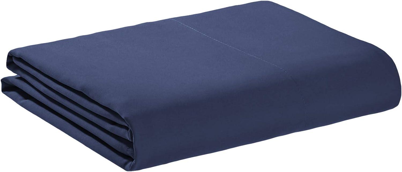 Basics schwarz 180 x 260 cm Hochwertiges Mikrofaser-Bettlaken