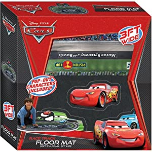 Amazon Com Cars Race Track Foam Floor Mat Disney Pixar