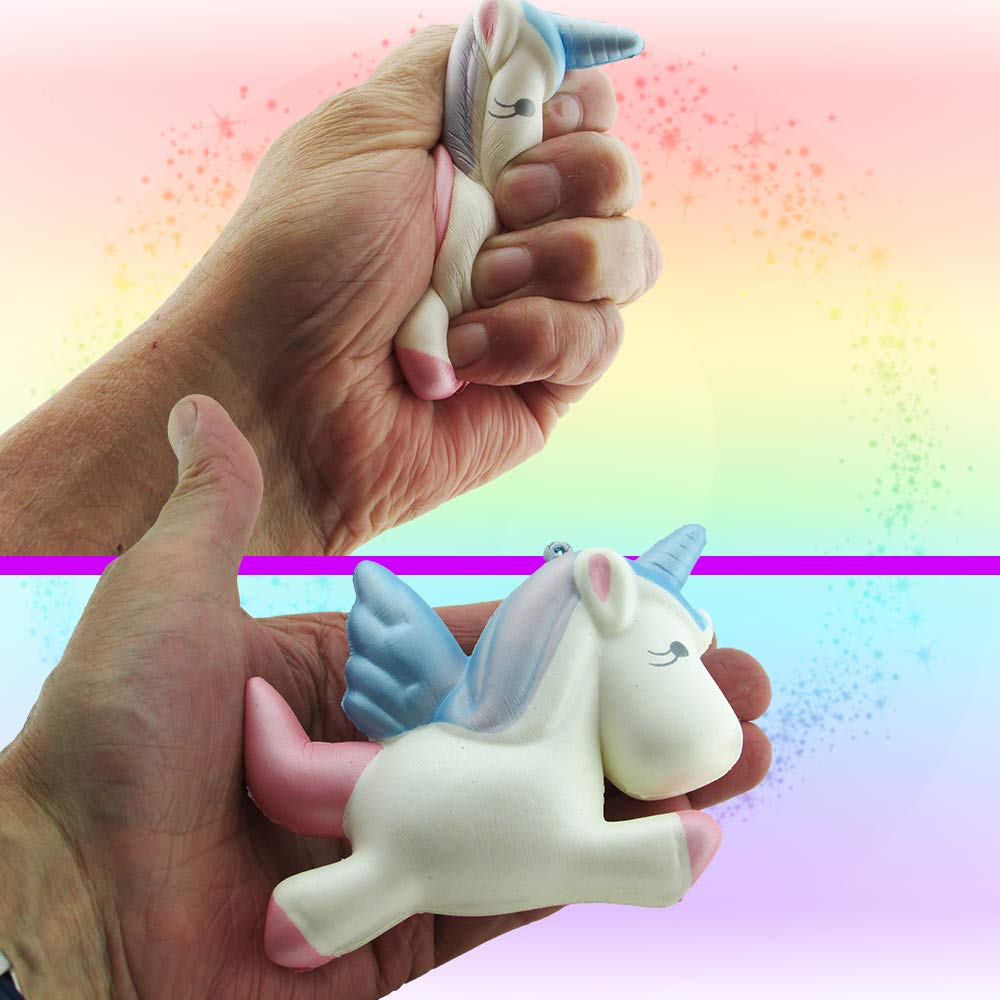 Unicorn Gifts For Girls - Unicorns That Little Girls Will LOVE! - You Get 2 Best Friend Necklaces + Unicorn Squishy + Cool Unicorn Buttons & Zippered Unicorn Cases! - PLUS Gift Packaging Is INCLUDED! by Fine Line Living (Image #5)