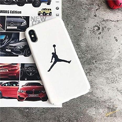 99d80bbb287ed Amazon.com: 1 piece Hot jump man Jordan Matte hard plastic cover ...