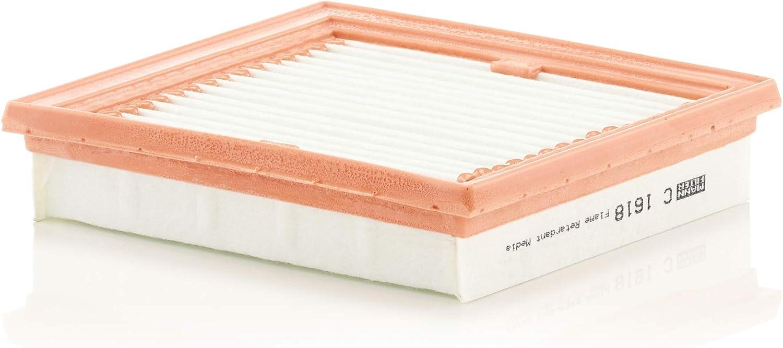 Original Mann Filter Luftfilter C 1618 Für Pkw Auto