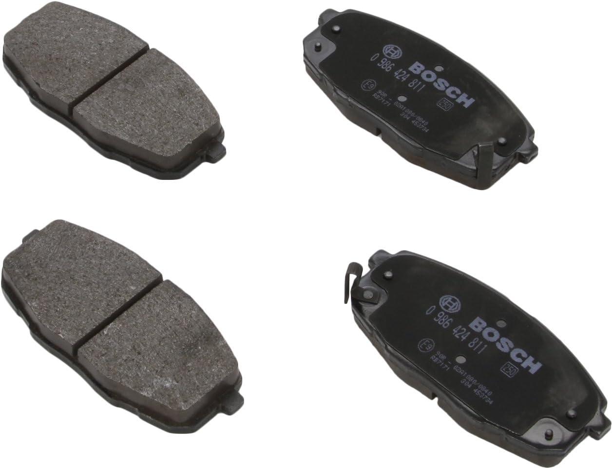 Bosch 0 986 424 811 Bremsbelagsatz Scheibenbremse 4-teilig