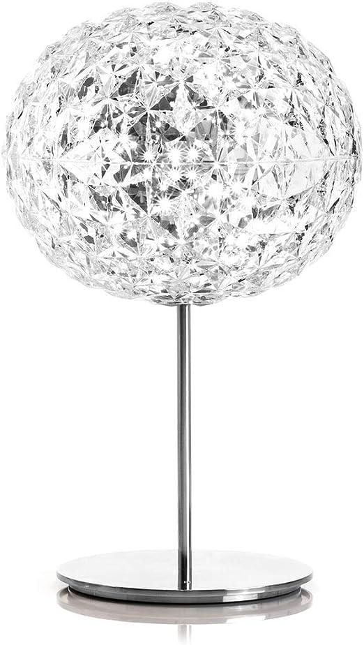 ELINKUME LED Lámpara de mesa bola de cristal - Creative Lámpara de ...