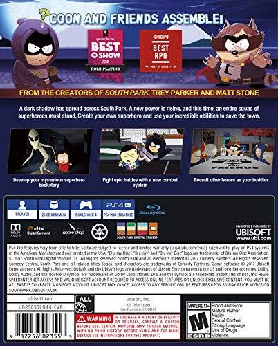 South Park: The Fractured but Whole – PlayStation 4