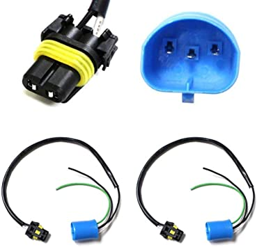 9006 To H4 Conversion Wires Adapters Headlight Retrofit or HID Kit Installation Xotic Tech Direct
