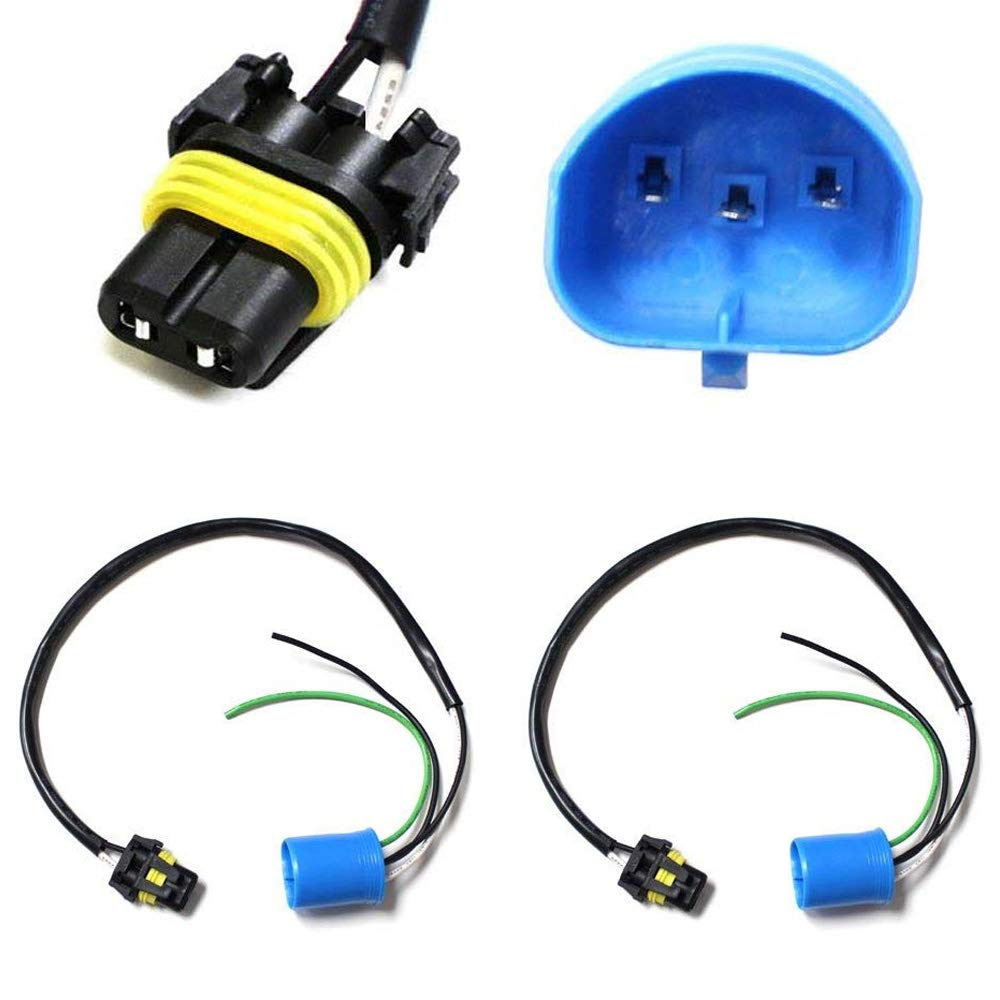 Amazon.com: iJDMTOY (2) 9006-To-9007 Conversion Wires Adapters/Power Cords For Headlight Retrofit or Xenon Headlight Kit Installation: Automotive