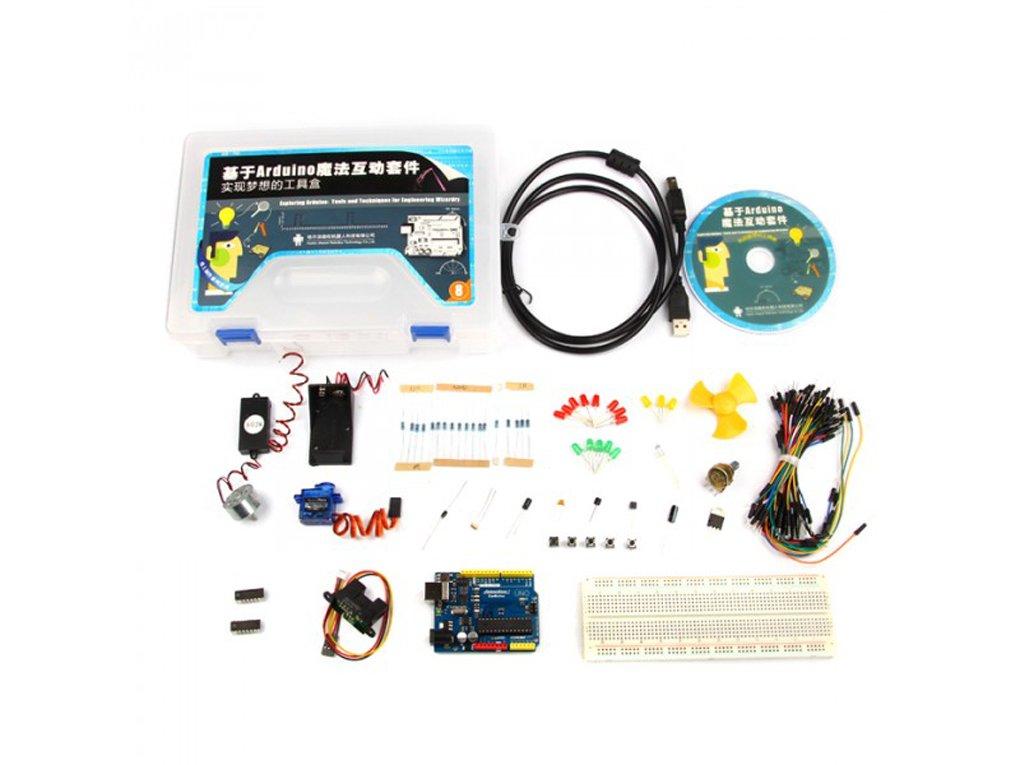 Sensor De Nube Introducci¨®n Al Arduino Magic Kit: Amazon.es ...