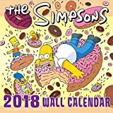 The Simpsons Official 2018 Calendar - Square Wall Format Calendar (Calendar 2018)