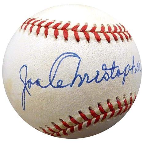 meet 88f98 423b1 Signed Christopher. Joe Ball - Official NL New York Mets ...