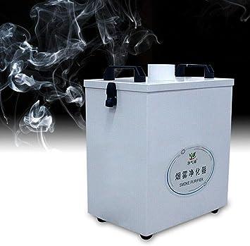 Extractor de humos de aire puro purificador de humo, múltiples filtros, motor sin escobillas DC de