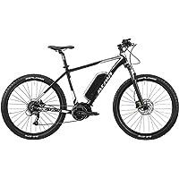 "'Atala bicicleta eléctrica b-cross AM8027,5""9V Talla 41400Wh 80Nm Negro/Silver (EMTB Front)/Electric Bike b-cross AM8027,59S Size 41400Wh 80Nm Black/Silver (EMTB Front)"