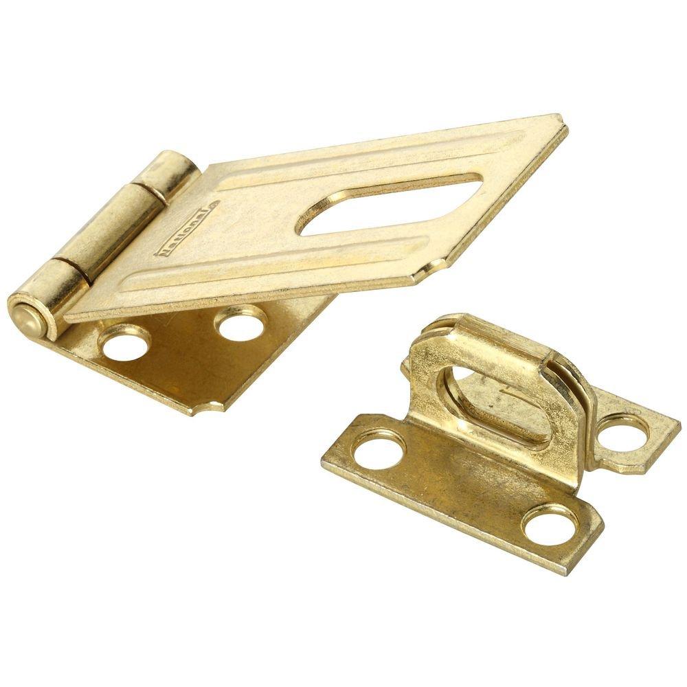 National Hardware N102 293 V30 Safety Hasp in Brass