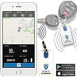 Waterproof Bluetooth Item Finder | Car Keys, Wallet, Kids, Smart Phone, Key, Small Remote Keyfinder, Purse | Pet Locator Device, Kid Tracker | Android, iOS & iPhone GPS App | Eureka! by Fyndit.co