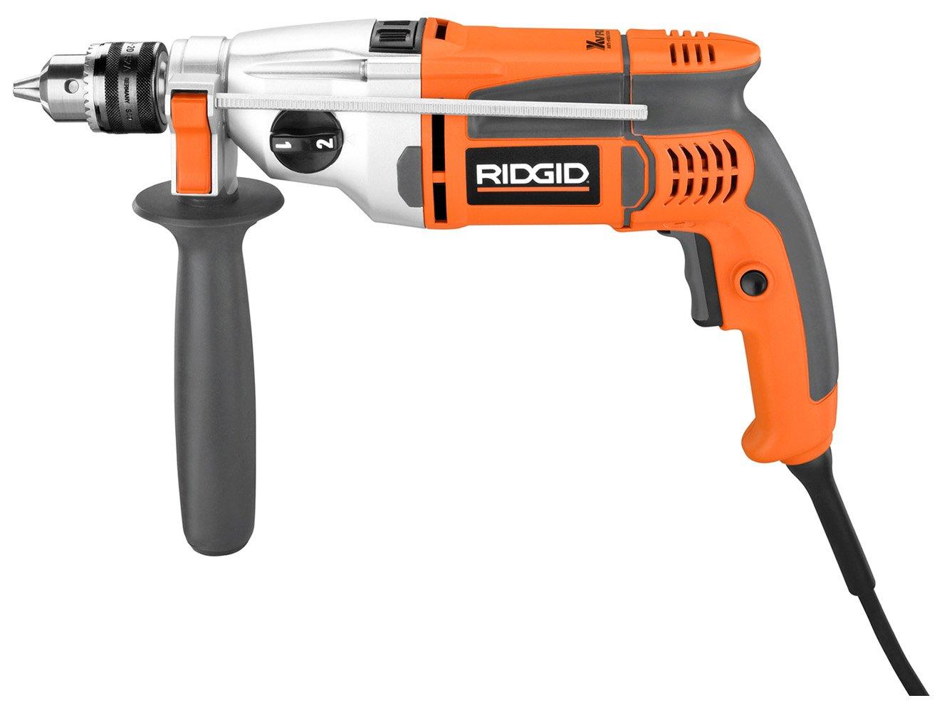 RIDGID ZRR5011 1 2-inch Heavy-Duty VSR Hammer Pulse Drill Renewed