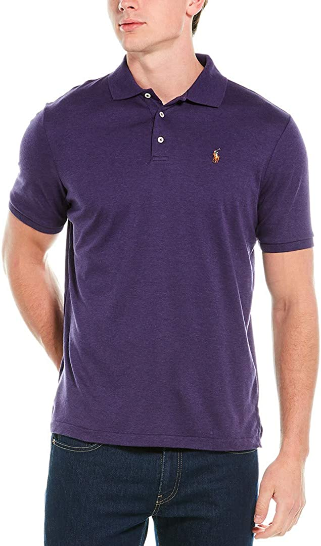 Polo Ralph Lauren Men Classic Fit Interlock Polo Shirt at  Men's Clothing store
