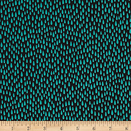 Paintbox Fabric (Robert Kaufman 0454624 Kaufman Paintbox Pacific Raindrops Breakers Fabric by The Yard)