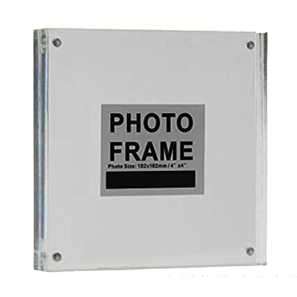 Amazon Yakri Clear Acrylic Photo Frame Magnetic Perspex