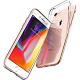 【Spigen】 スマホケース iPhone8 ケース / iPhone7 ケース 対応 TPU 全面クリア 超薄型 超軽量 リキッド・クリスタル 042CS20435 (クリスタル ・クリア)