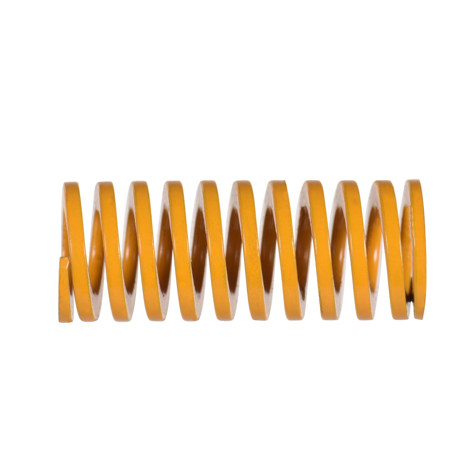 Ajorhkdls Aibecy Yellow Mould Springs Heated Bed Compression Die Spring 10mm OD 20mm Length Compatible with Creality CR-7 CR-8 CR-10 CR-10 S4 CR-10 S5 3D Printer 10pcs