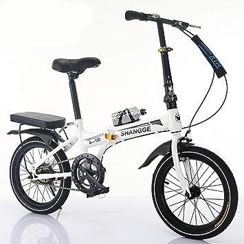 LETFF Bici Plegable de la Bicicleta de la Velocidad Variable del niño del Estudiante de 20