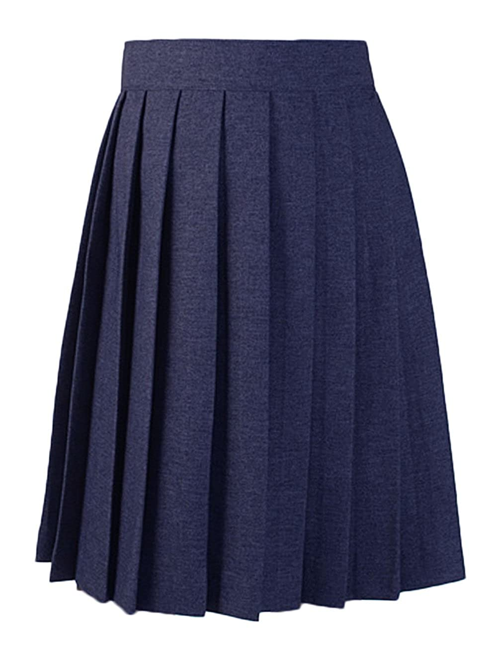 French Toast Pleated Skirt - navy, 10