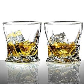 Ecooe Old Fashion Whiskey Scotch Glasses Tumblers ...
