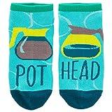 Wit Gifts Women's Ankle Socks, Sockshosiery, Port Head, One Size