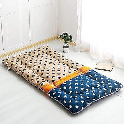 ASDFGH Tradicional japonés Que Colchones de futon, Espesar Colchón Tatami Plegable Estera de meditación,