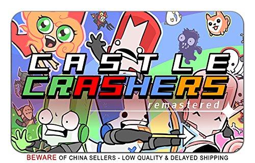 Castle Crashers Video Game Stylish Playmat Mousepad (24 x 14) Inches [MP] Castle Crashers- ()