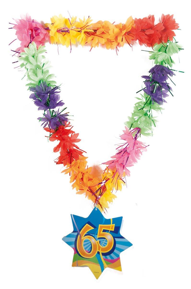 CREATIVE Cadena de cumpleaños número brillo Hawaii guirnalda ...