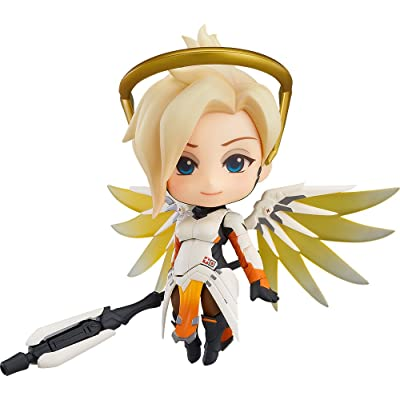 Good Smile Overwatch: Mercy (Classic Skin Version) Nendoroid Action Figure: Toys & Games [5Bkhe0700453]