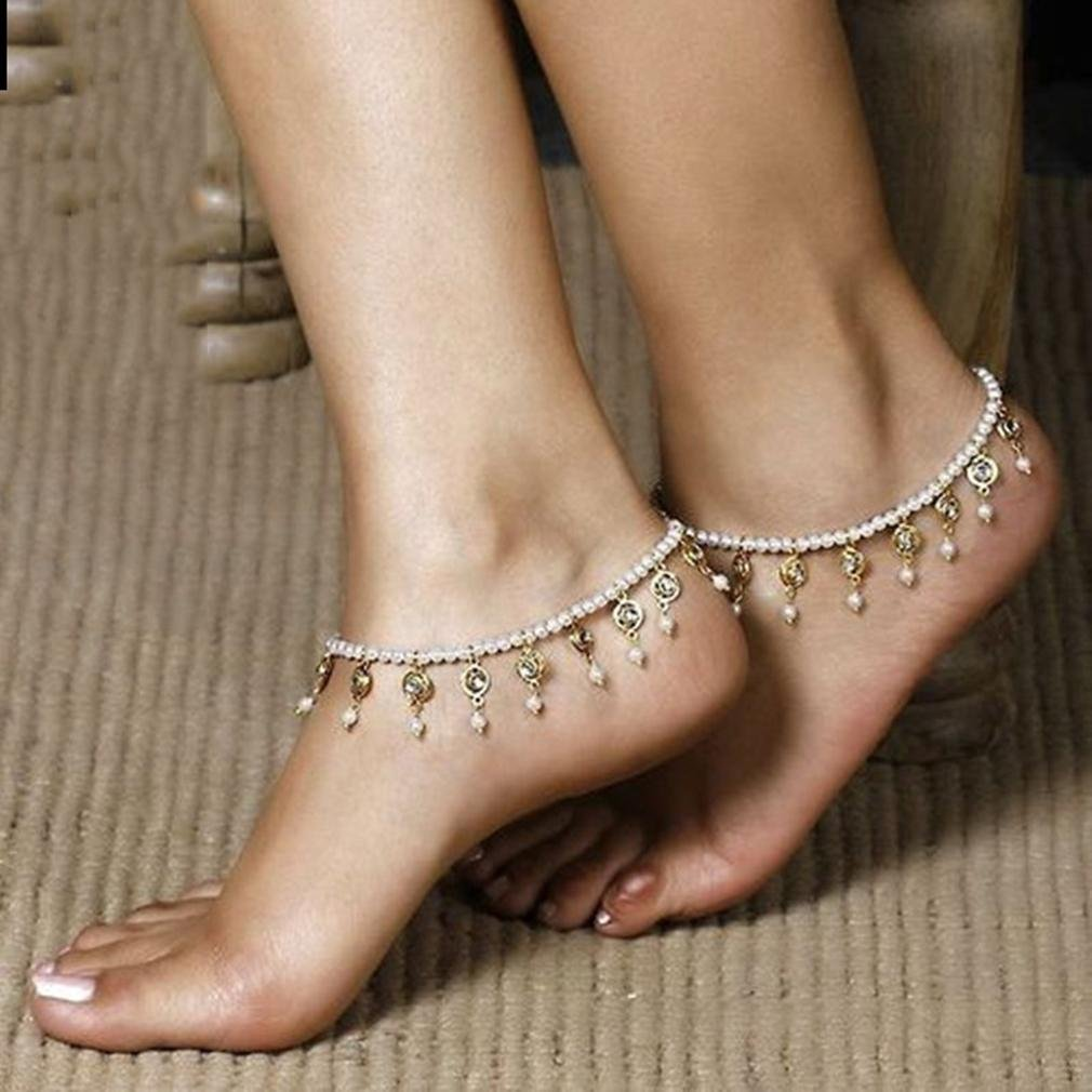 GYJUN Bijoux de Corps/Bracelet de cheville Chaîne de Corps Perle Autres Original Mode 1pc silver GYJUN bracelet cheville