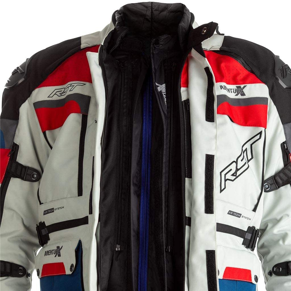 RST Veste Adventure-x ce Textile Ice//Blue//Red Taille XL Homme