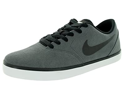 size 7 another chance exquisite style Nike SB Check Mens Trainers 705265 Sneakers Shoes (UK 10 US 11 EU 45, Dark  Grey Black White 011)