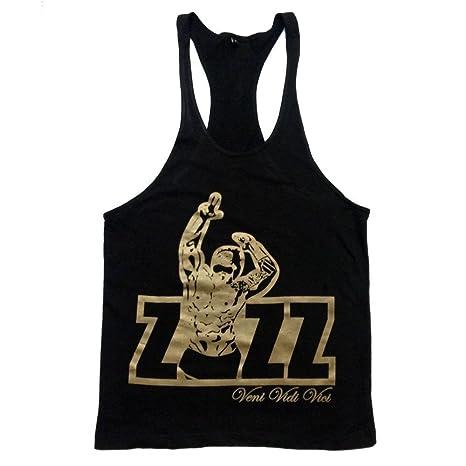 fd9859ad Flexz Fitness Zyzz Official Singlet Tank Top Stringer Vest Bodybuilding  Racerback Y-Back Veni Vidi