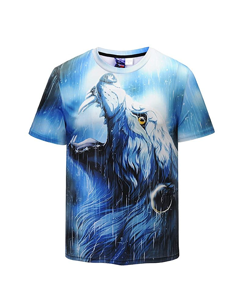 e6343bcf TIMELESS DESIGN: Crewneck short sleeve many animal graphic t shirts,There  is always one that you like. PROFESSIONALLY PRINTED: Utilizing latest  advanced 3D ...