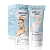 Whitening cream that can effectively moisturize the skin. It can brighten knees, bikini lines, and combat dark spots on the face, elbows and underarms (60ml)