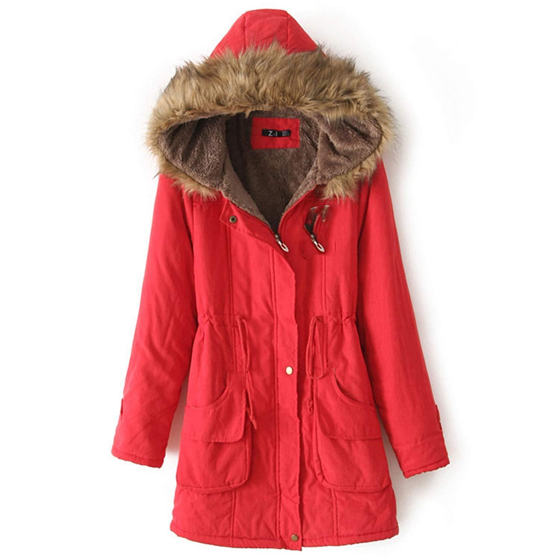 Amazon.com: Winter Jackets Coat Women Chaqueta Mujer Plus ...
