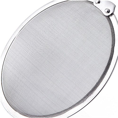 Connia Kitchen Stainless Steel Mesh Hanging Oil Filter Net Strainer Scoop Spoon Skimming Network by Connia (Image #4)