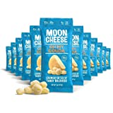 Moon Cheese, Oh My Gouda, 100% Gouda Cheese, Low-carb 1 oz, Keto-Friendly, high protein snack alternative to protein bars, co