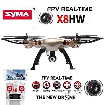 Doodlbuzz SYMA X8HW BARÓMETRO 2,4 6-Axis Gyro con la WiFi cámara ...