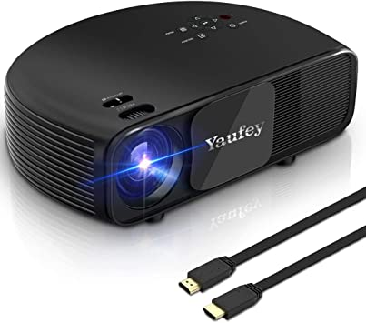 Yaufey Proyectores, 1080p Full HD LED Proyector de vídeo, 3200 ...