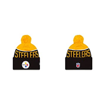 huge discount 1ac29 e7923 Pittsburgh Steelers New Era 2015 NFL Official Sideline Sport Knit Hat -  Size One Size, T-Shirts   Tops - Amazon Canada