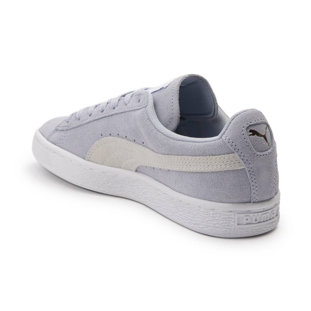 PUMA Women's Suede Mono Satin Platform B076KBKG6V 8 B(M) US|Suede Light Blue 1666