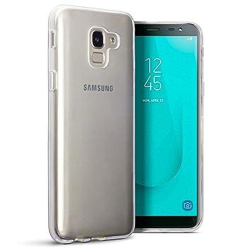 TERRAPIN Funda Samsung Galaxy J6 2018 (J600G) Protectiva de Silicona Gel TPU estrecha -