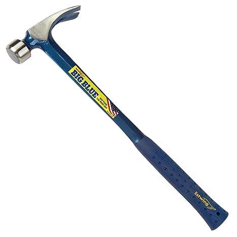 Estwing BIG BLUE Framing Hammer - 25 oz Straight Rip Claw with ...